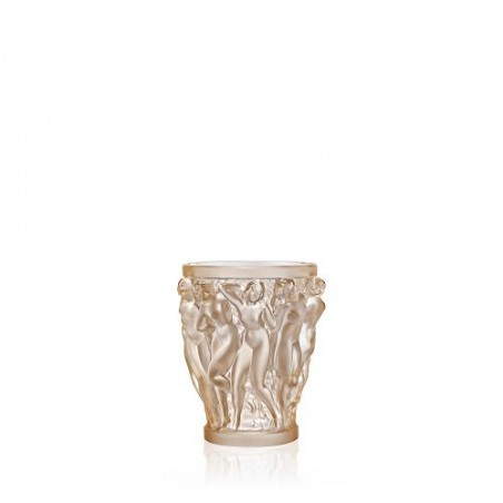 Vaso BACCHANTES SMALL col. GOLD LUSTER CRYSTAL