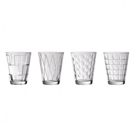 Set Bicchieri da acqua 31Cl 4 pz - Dressed Up